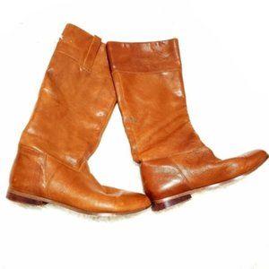 Steve Madden | Leather Sekt Riding Pull On Boot